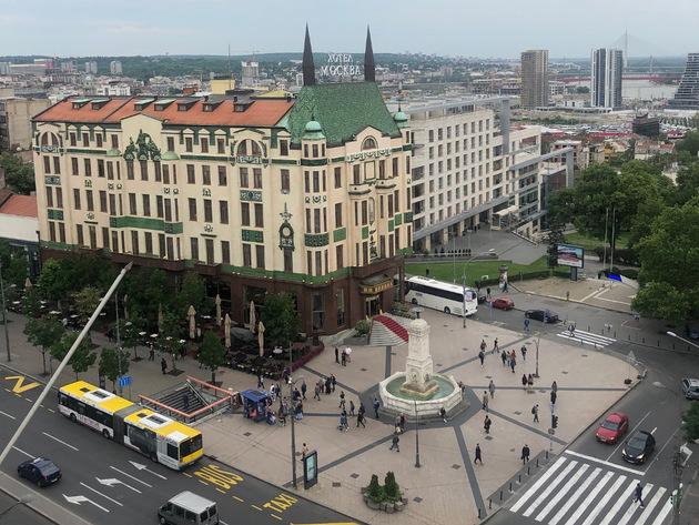 Terazije proglašene kulturno-istorijskom celinom Beograda - Gradnja samo uz posebne dozvole