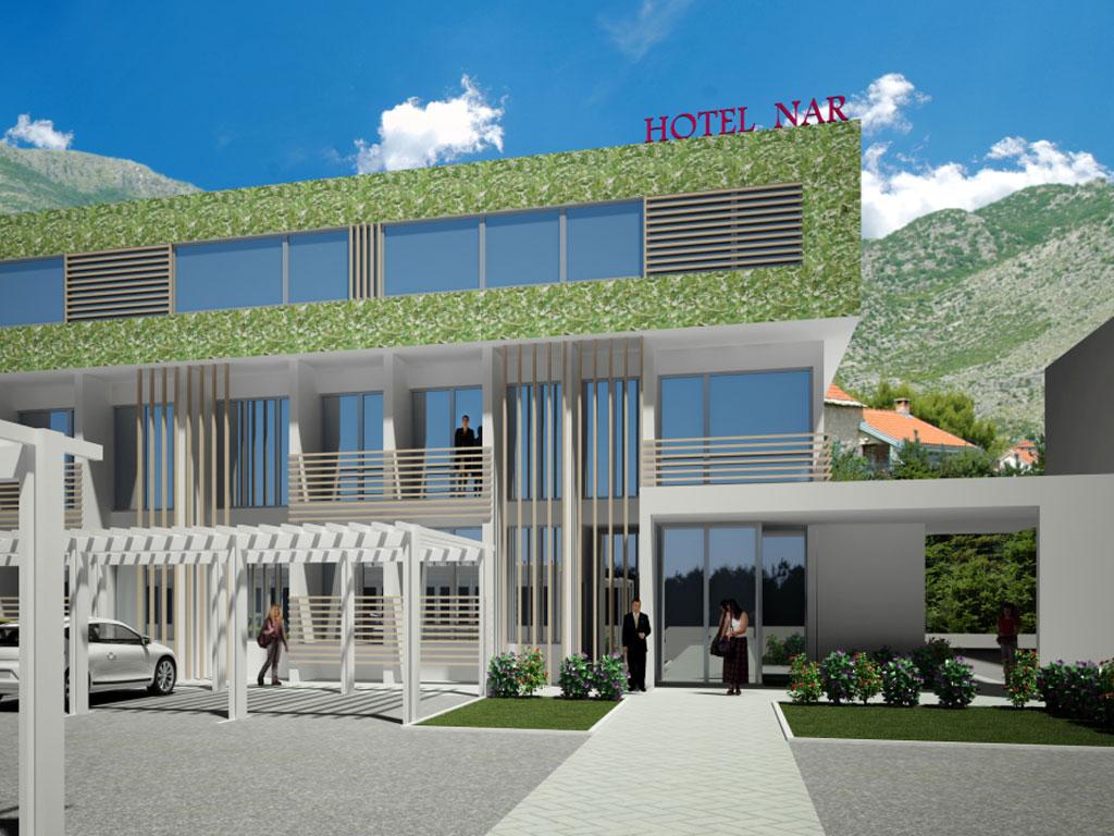 """""""Nar"""" na mediteranskom kamenu i suncu - Na jesen 2014. Trebinje dobija hotel vrijedan 1,5 mil KM"""