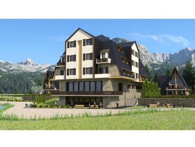 Na Žabljaku niče novi turistički kompleks sa hotelom i vilama - Vrijednost investicije 20,47 mil EUR