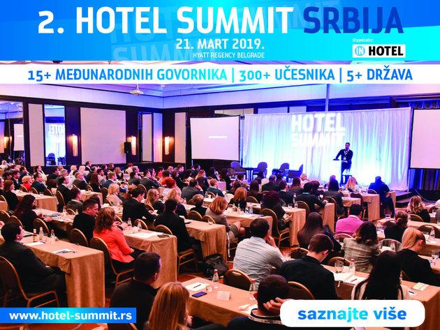 Hotel Summit Srbija okuplja 15 međunarodnih govornika na najvećoj godišnjoj hospitality konferenciji u Srbiji