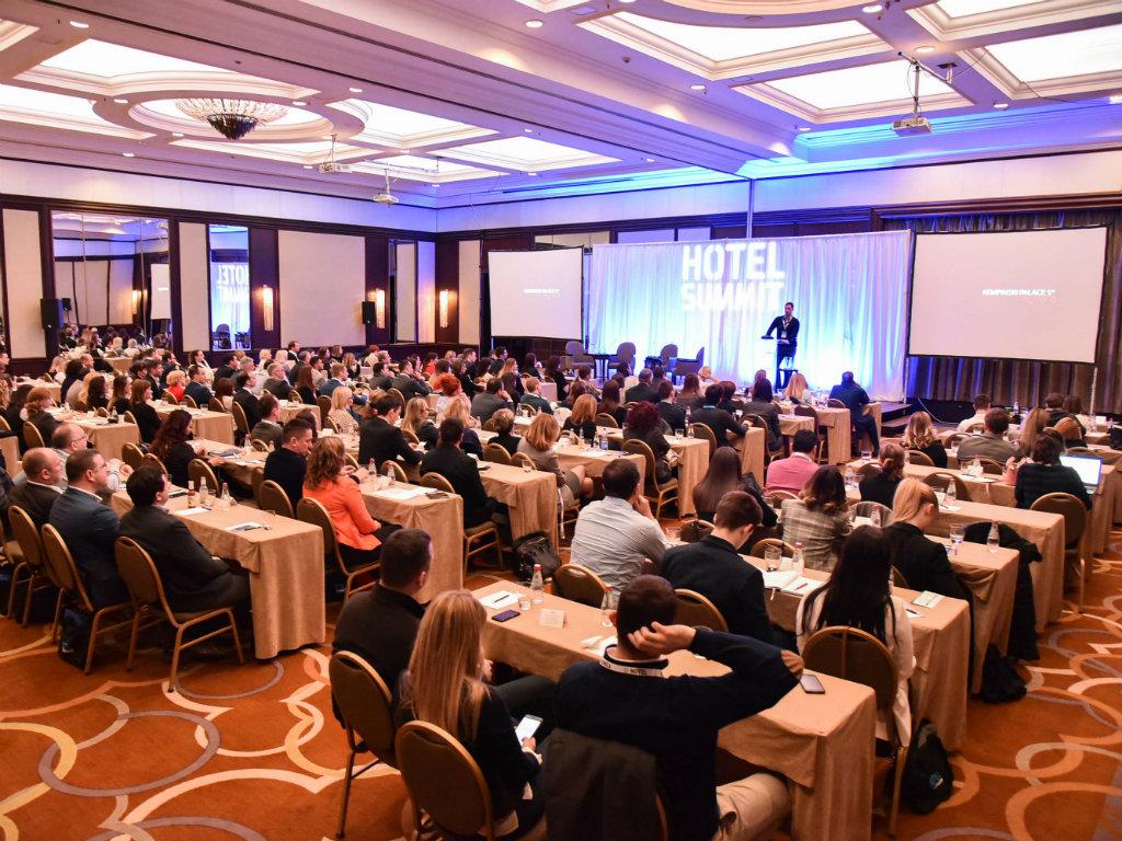 Hotel Summit Srbija 26. marta u Beogradu - U fokusu investicije, izvori prihoda izvan hotelske sobe i prilike za kreiranje F&B destinacije