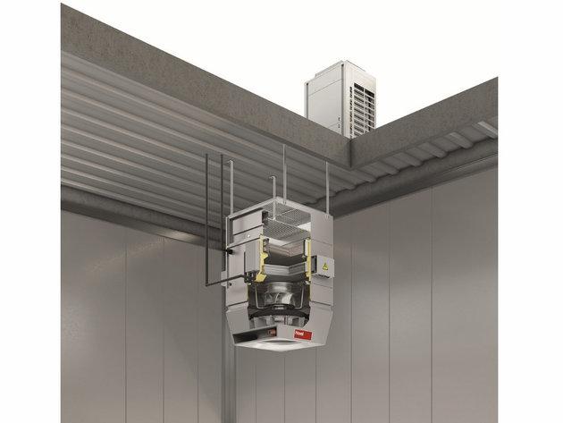 Recirkulacioni uređaj TopVent® sa toplotnom pumpom
