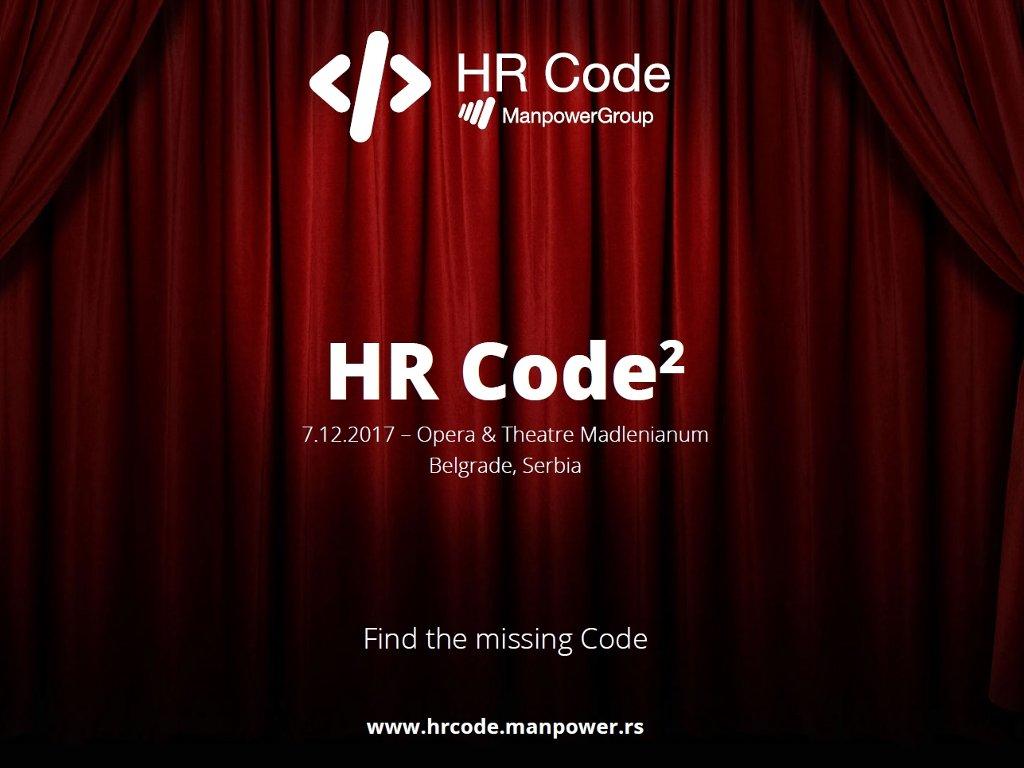Pogledajte ko će biti predavači na regionalnoj konferenciji HR Code 7. decembra u Beogradu