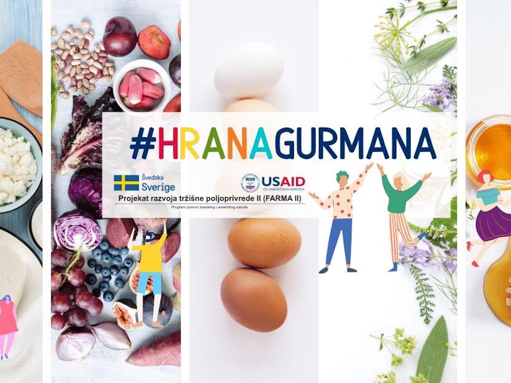"""Kampanja """"Hrana gurmana"""" promovisaće domaće prozivode - Uskoro javni poziv za male biznise i poljoprivrednike"""