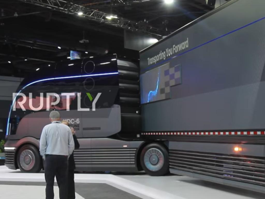 Hyundai predstavio kamion na hidrogen