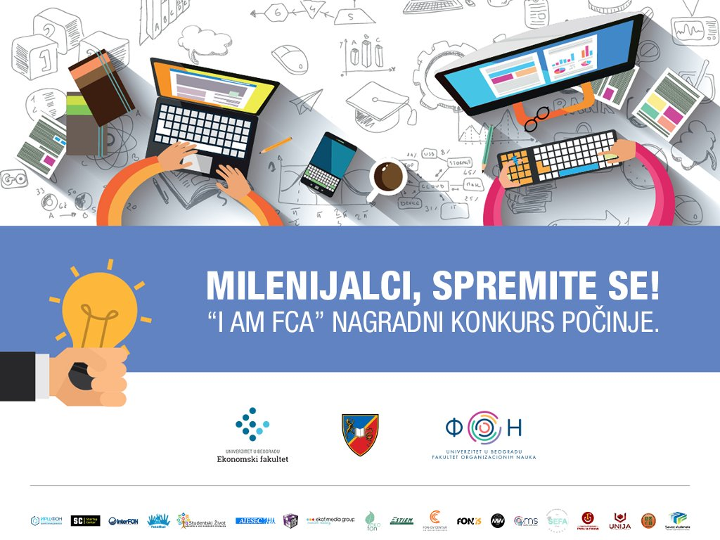 """What kind of future car millennials in Serbia want - """"I am FCA"""" prize contest open until January 20, 2018"""