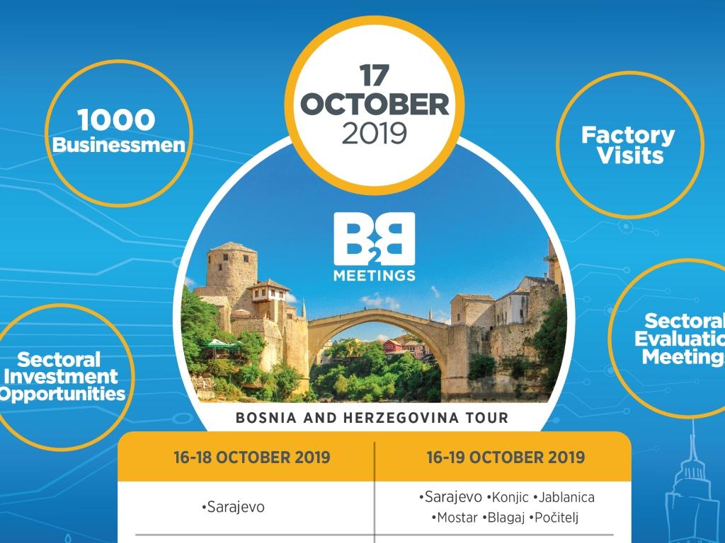 Međunarodni poslovni forum od 16. do 18. oktobra u Sarajevu - Prezentacija potencijala BiH turskim i inostranim privrednicima