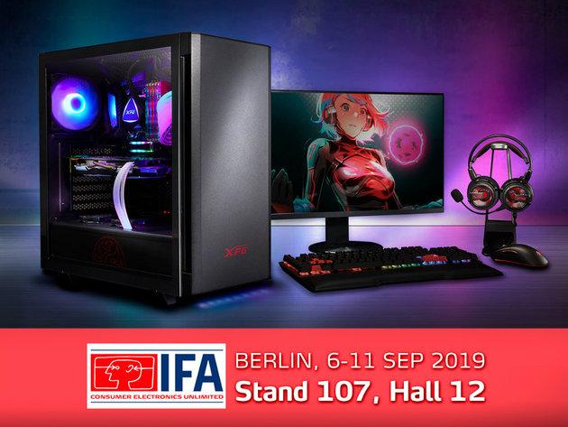 XPG na sajmu IFA Berlin 2019 predstavlja prvi 4D miš na svetu i novu opremu za igranje Mera Edition