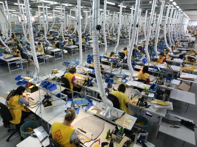 Fabrik IGB Automotive in Indjija