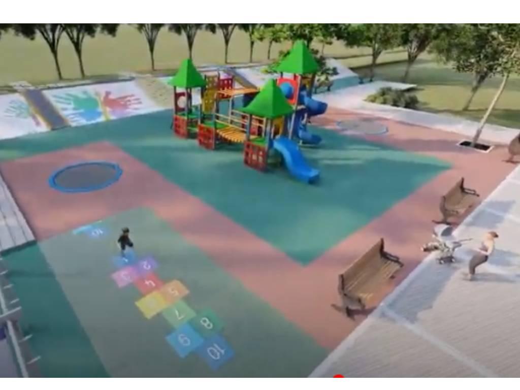 Pogledajte kako će izgledati savremeno dječje igralište u Zagoriču (VIDEO)
