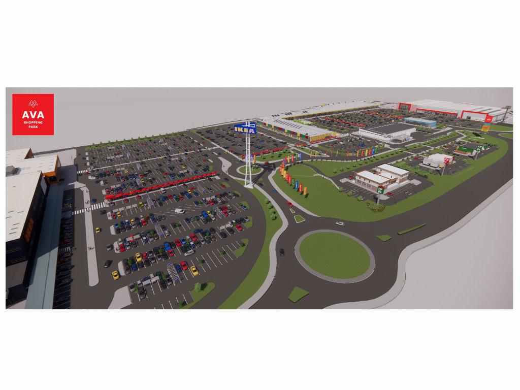 IKEA spremna da počne gradnju trgovačkog centra AVA Shopping Park i otvori 400 novih radnih mesta