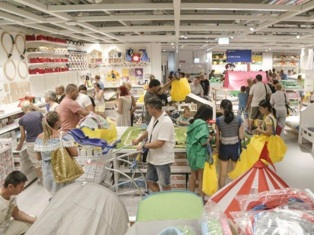 From the opening of the IKEA department store in Belgrade