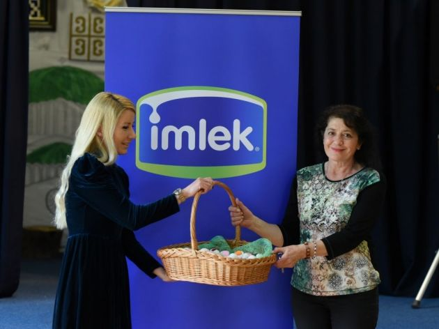Imlek Donates Easter Gifts to Children in Serbia