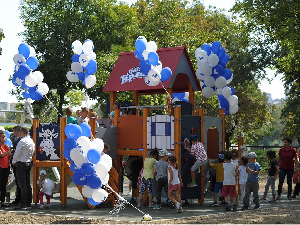 Imlek poklonio dečje igralište u Beogradu