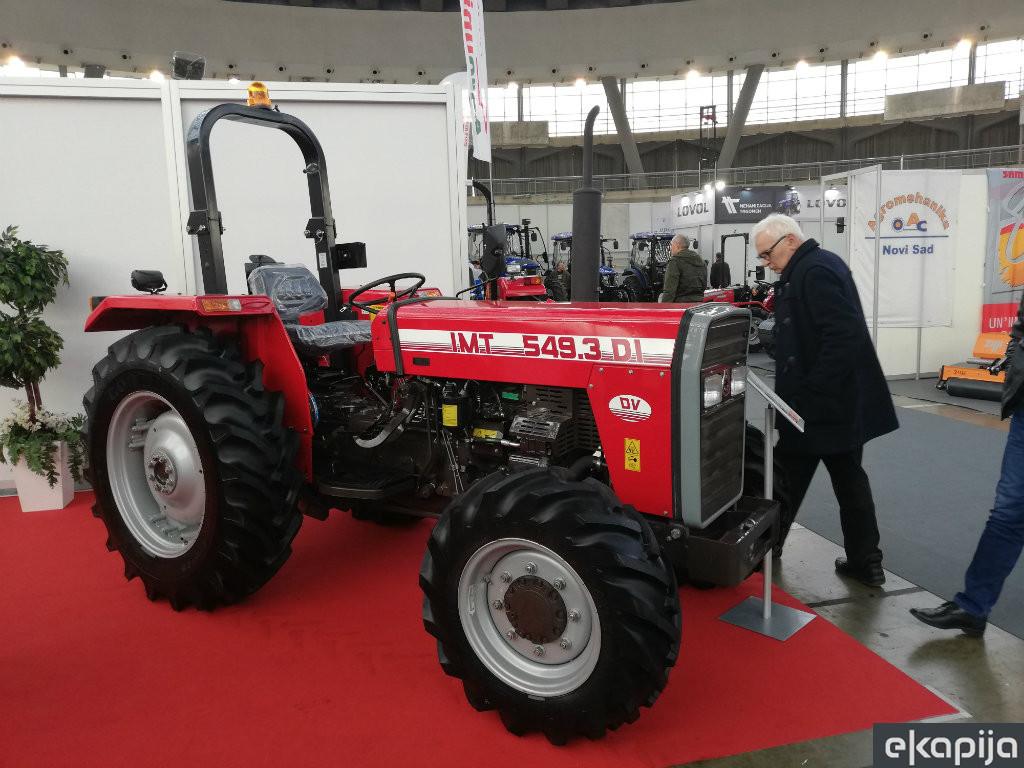 Agro Belgrade 2020 - Traktori za voćare i vinogradare zainteresovali kupce (FOTO)