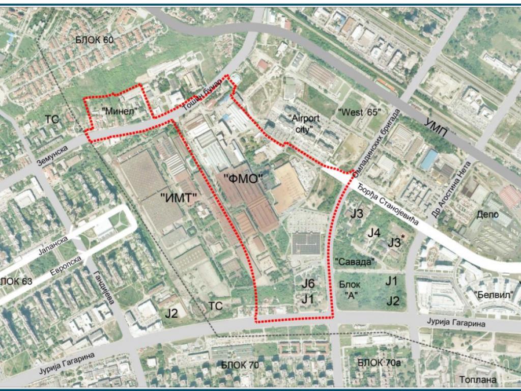 Na mestu fabrike IMT na Novom Beogradu gradiće se više od 5.000 stanova, 150.000 m2 komercijalnog prostora, vrtići, škole...