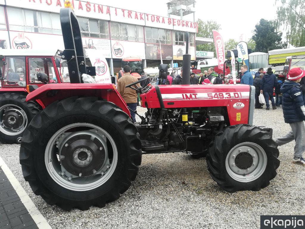 Prodaja traktora u Srbiji beleži blagi rast uprkos epidemiji