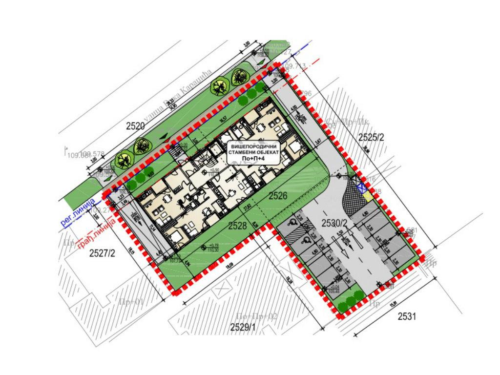 U Inđiji će se graditi višeporodični stambeni objekat u Ulici Vuka Karadžića