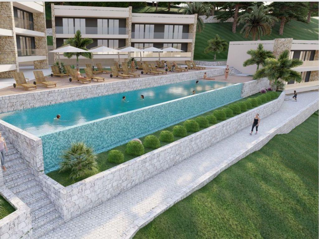 Turističko naselje Ineks Zlatna obala u Sutomoru dobija nove sadržaje - U planu rekonstrukcija postojećih vila, izgradnja hotela sa pet zvjezdica i spa centra (FOTO)