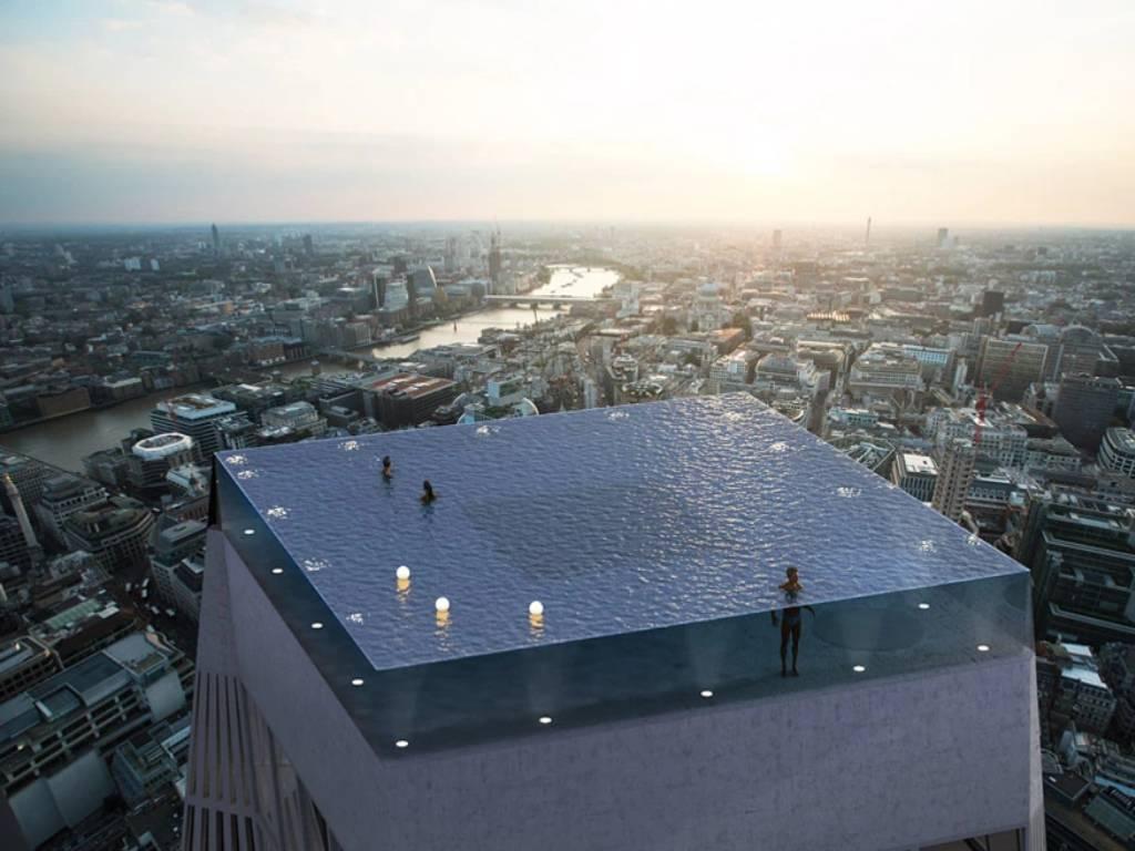 Pogled na prvi svetski beskrajni bazen od 360 stepeni (VIDEO)