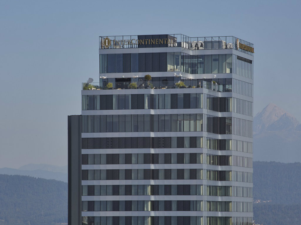 Beogradski Landscape Factory ozeleneo najvišu zgradu u Sloveniji - Terasa hotela InterContinental u Ljubljani sa pečatom domaće pejzažne arhitekture (FOTO)
