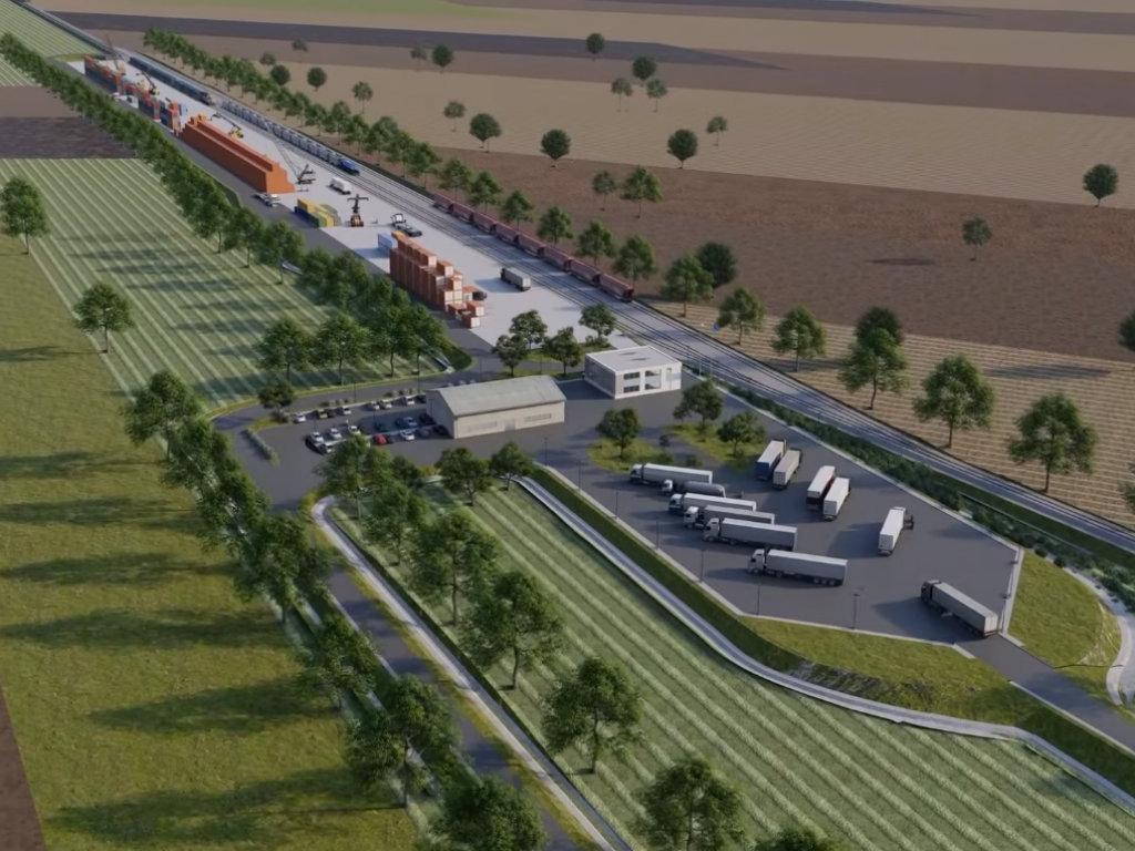 Kompleks intermodalnog terminala i logističkog centra u Batajnici prostiraće se na 82,5 ha - Pogledajte kako će izgledati (VIDEO)