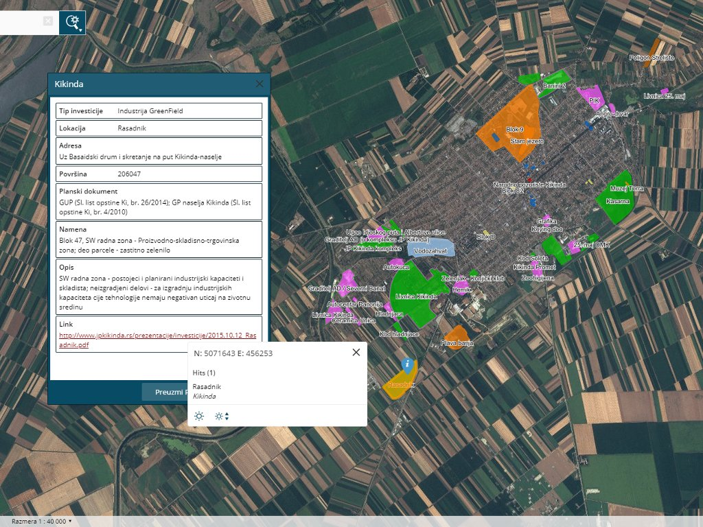 geodetski zavod srbije mapa eKapija | Klikom do podataka o lokacijama, opremljenosti  geodetski zavod srbije mapa