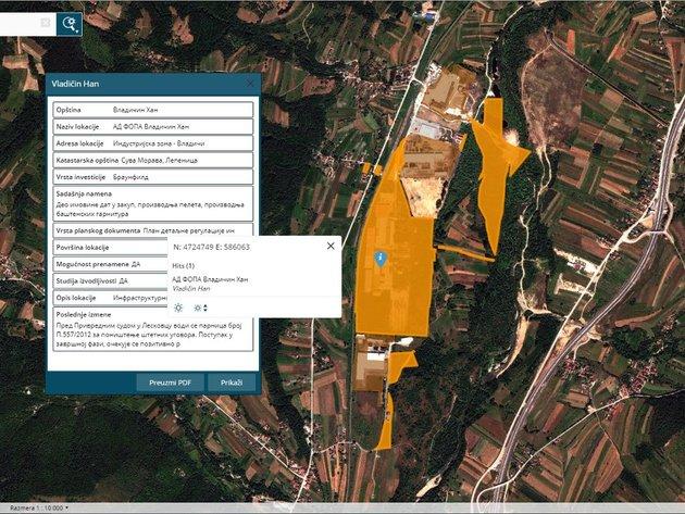 Ekapija Klikom Do Podataka O Lokacijama Opremljenosti