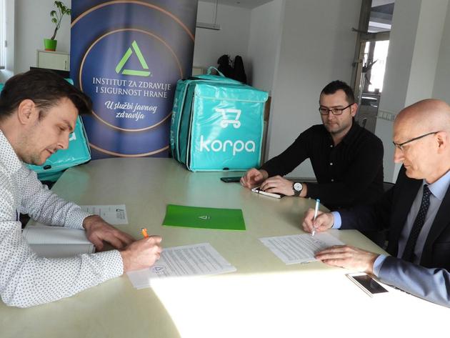 Ugovor INZ-a i Korpa.ba - Kupcima još bolja usluga i sigurnija hrana
