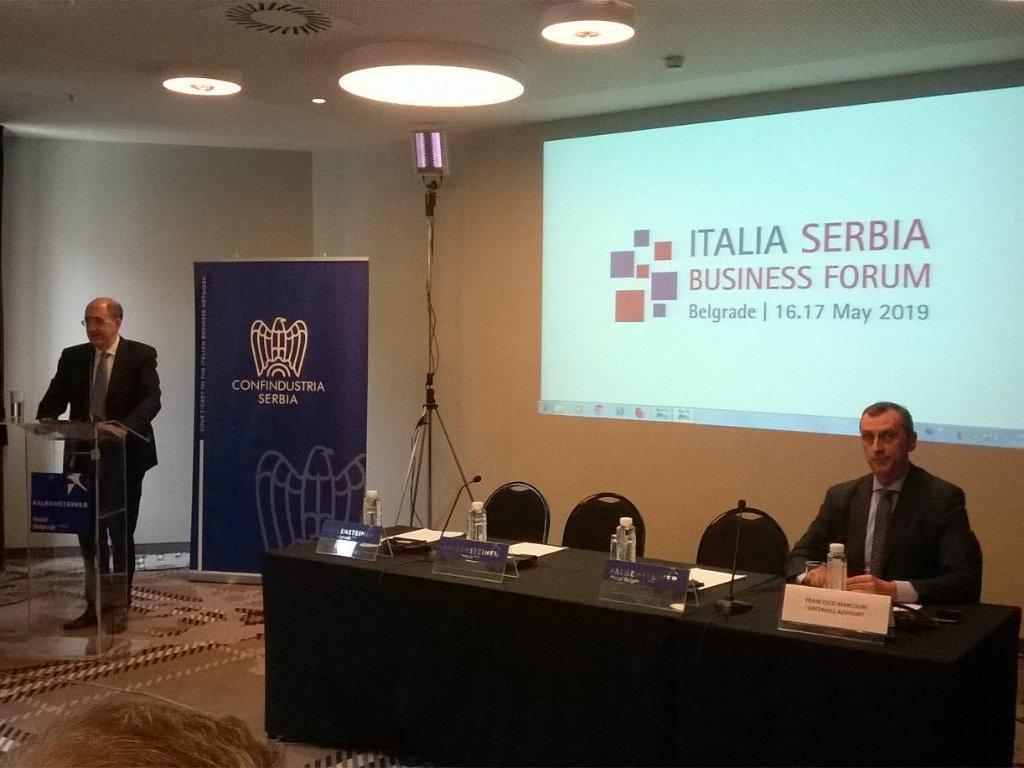 Italija-Srbija Business Forum okupio 30 italijanskih kompanija u Beogradu - Saradnja u oblasti infrastrukture, energetike i IT