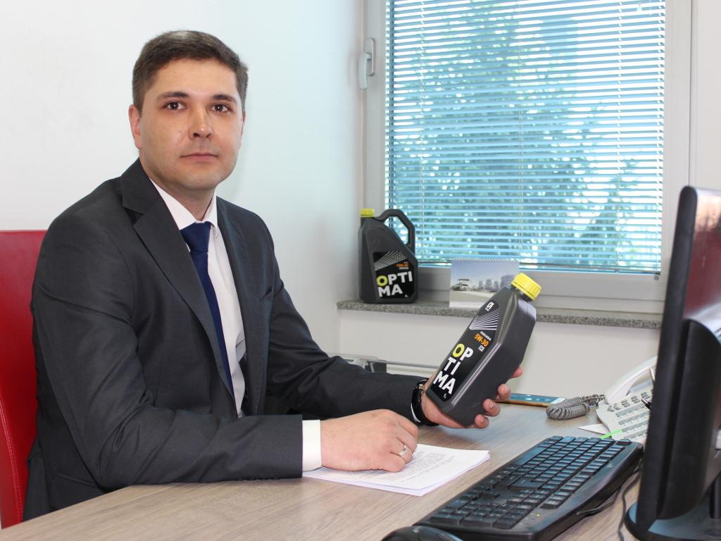 Ivan Ivanovič Kurjavij, načelnik Uprave za prodaju ulja Optima grupa - Kvalitetom ponovo osvajamo region