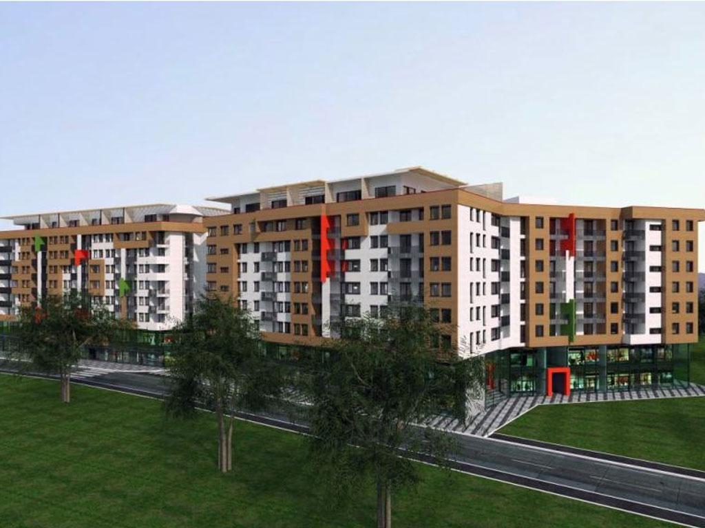 """Ilidža ljepša za moderan stambeno-poslovni objekat """"Izvor"""" - Na površini od 40.000 m2 278 stanova, poslovni prostori, garaže"""