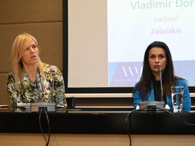 Zorana Zdrale Burlic und Dijana Ivanova