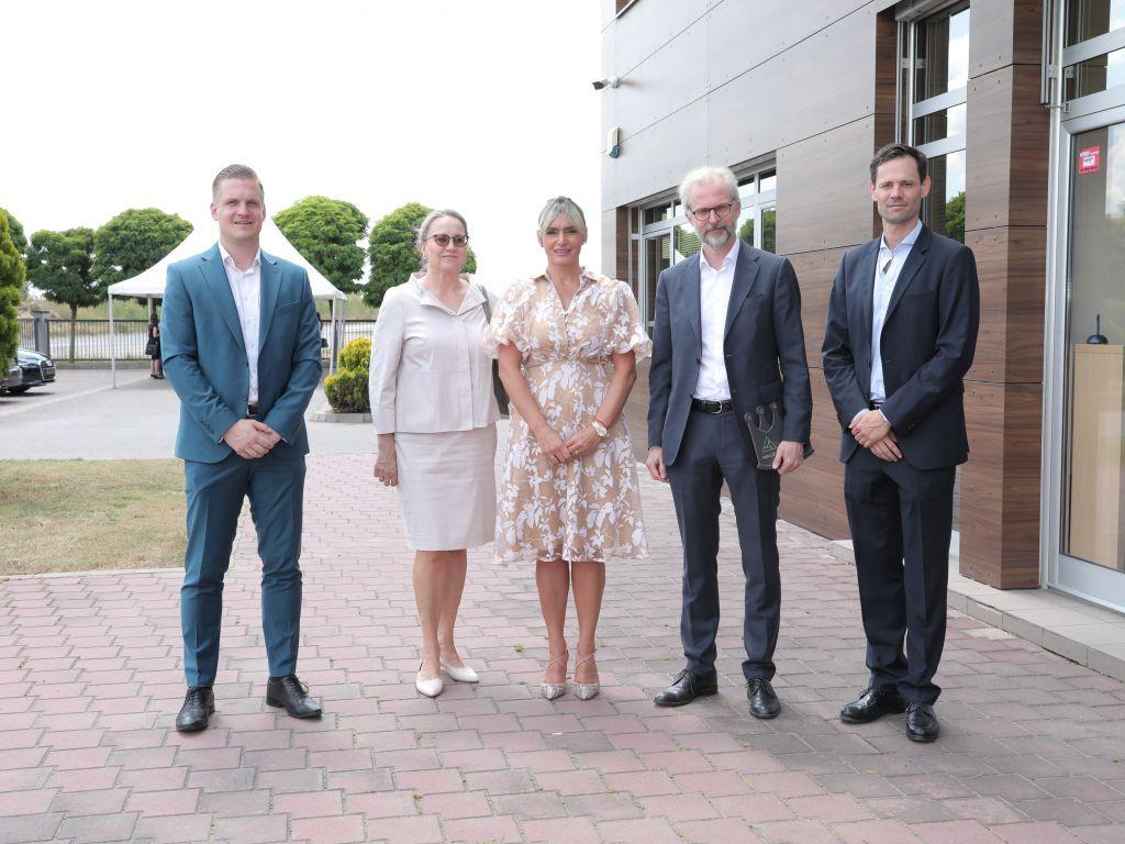 Austrijska delegacija u poseti kompaniji JAF Srbija