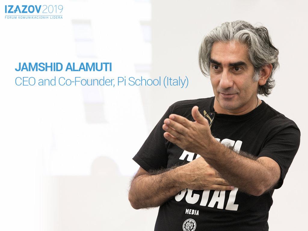 Jamshid Alamuti, CEO i suosnivač Pi School iz Italije - Ogroman jaz između kreativnih talenata i tradicionalnih radnih modela