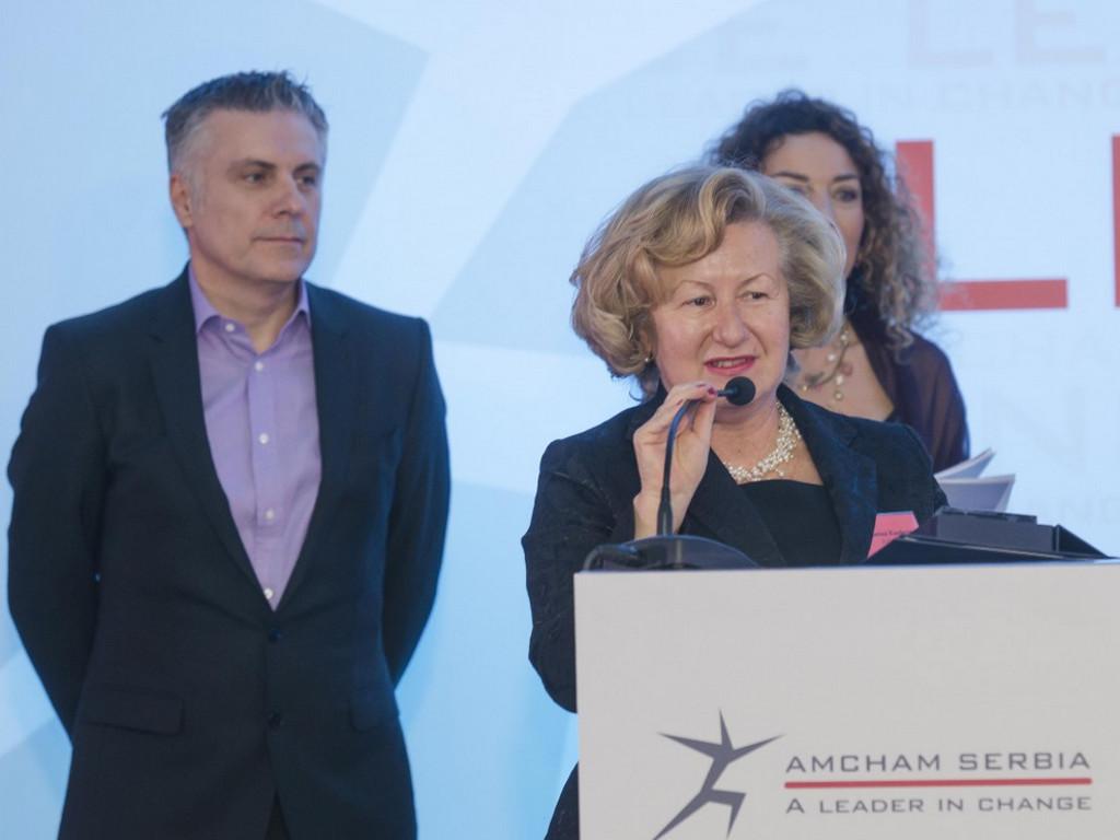 """Američka privredna komora u Srbiji nagradila """"Lidere promena"""""""