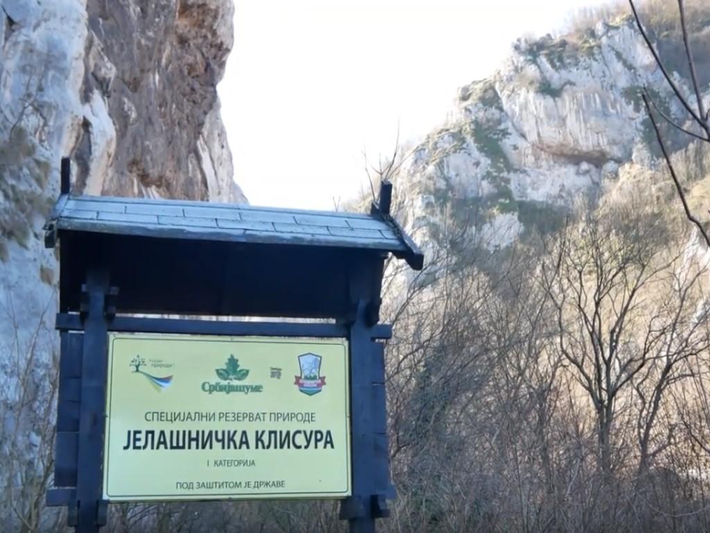 Šetnja između praokeanskih skulptura na 15 km od Niša - Jelašnička klisura kao čudo prirode