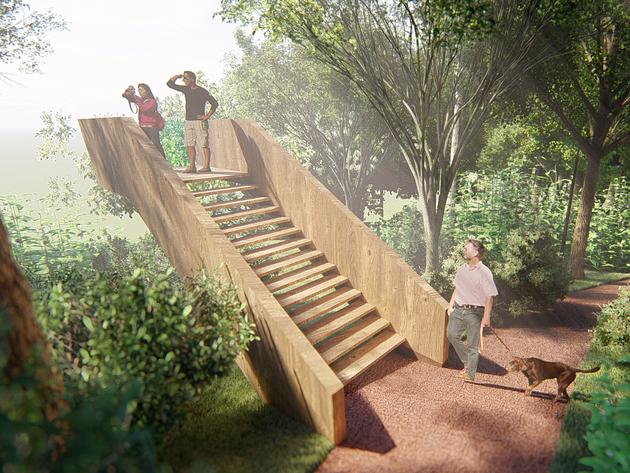 Laktaši dobijaju rekreativnu i piknik zonu sa sankalištem - Idejnim projektom predviđeno uređenje park šume Jelića brdo (FOTO)