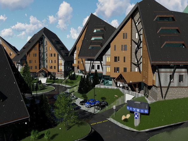 Kompleks Jelkice na Staroj planini korak bliže izgradnji - 17 apart-hotela na 38.000 m2 (FOTO, VIDEO)