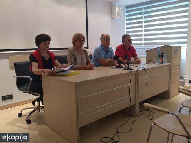Biljana Radulović, Ljiljana Čerović, Aleksandar Seničić i Mirko Levajac