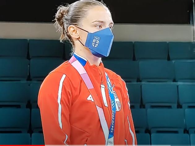 Jovana Preković, olimpijska šampionka u karateu - Pitomac Vojne akademije pronosi slavu Srbije i na sportskom polju