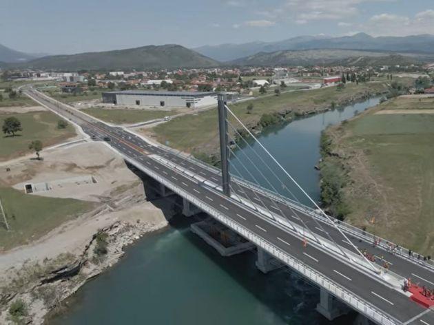 Most na jugozapadnoj obilaznici zatvoren na neodređeno - Čeka se izmještanje dalekovoda i građevinska dozvola za nova stubna mjesta