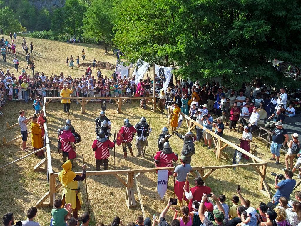 Knight battles at Manasija