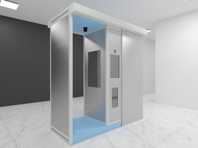 "3D prikaz kabine ""Aditus gate"""