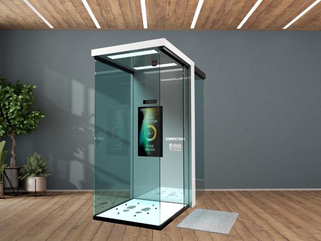 3D prikaz druge verzije kabine