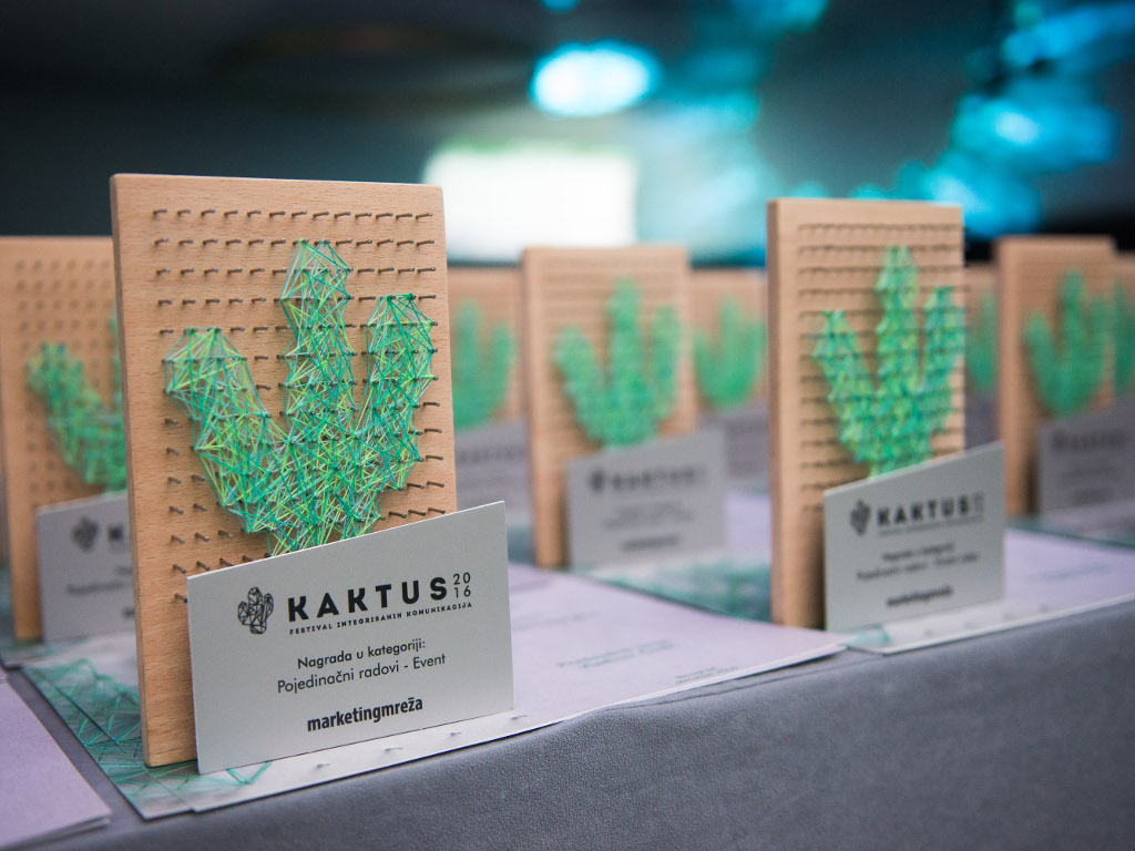 Dodeljene nagrade KAKTUS 2016 - McCann Beograd agencija godine