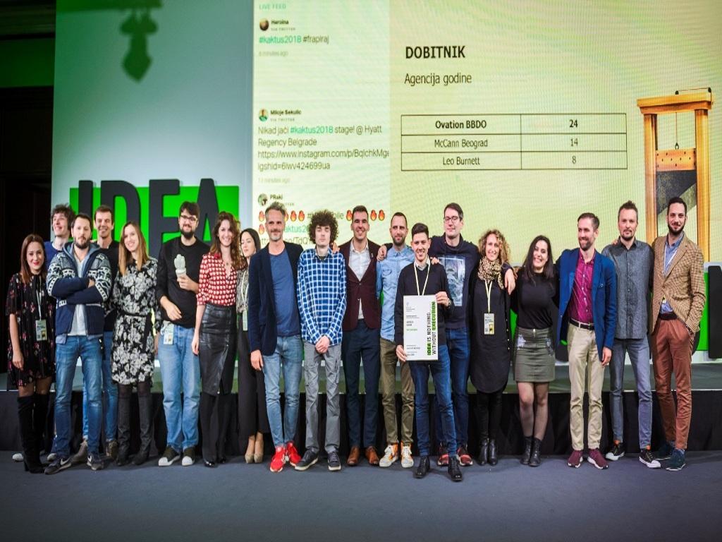 Dodeljena priznanja Kaktus 2018 - Nagrade za najbolje kampanje