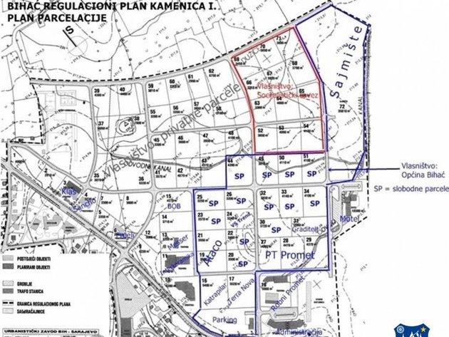 Bihać razvija infrastrukturu u Poslovnoj zoni Kamenica - Za investitore preostale dvije parcele