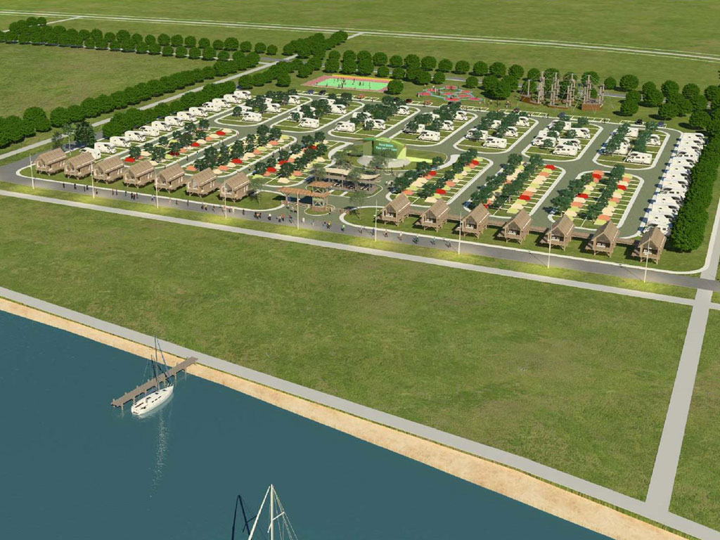 Four-star accommodation by the Tisa River - See how camp in Novi Becej will look like (PHOTO)