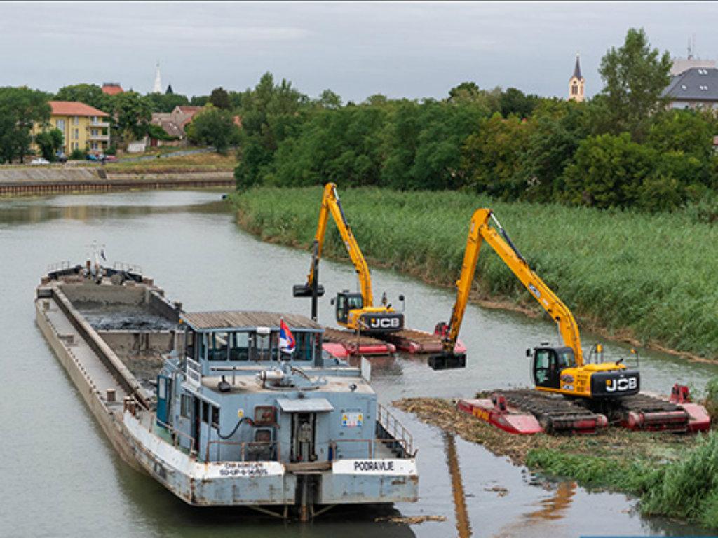 Počele pripreme za izgradnja pristana na Begeju u Zrenjaninu - Vrednost radova 600.000 EUR